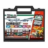 JBL Wassertest-Koffer, mit 6 Tests und Zubehör, Für Koi- und Gartenteiche, PROAQUATEST COMBISET POND