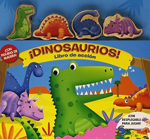 ¡Dinosaurios! Libro De Acción