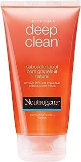 Sabonete Facial Deep CleanGrapefruit, Neutrogena, 150g