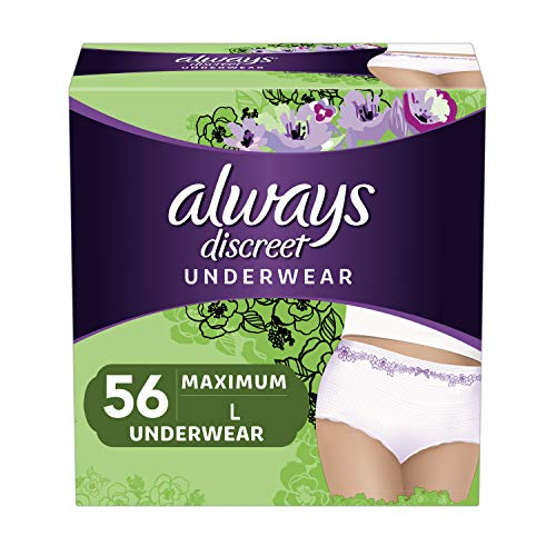 Always Discreet Incontinence & Postpartum...