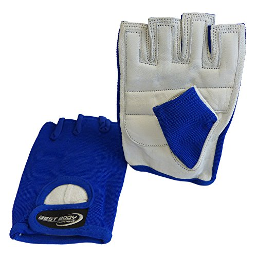 Best Body Nutrition Power Handschuh, Mehrfarbig (blau), XL
