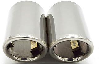 elegantstunning a Doppia Coda Tubi di Scarico per Auto ECC. per Serie B-MW 5 F10 F07 F11 F18 520li