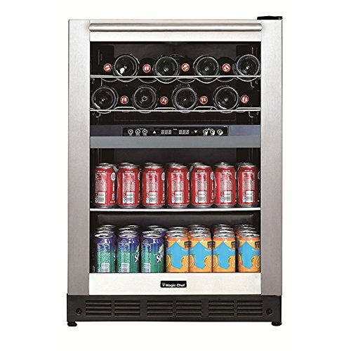 Dual-Zone Built-In Wine and Beverage Center