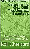 MultiEnvironment data sharing: XML, DB2, Troubleshoot TimeStamp: Oracle WebLogic, JDeveloper XML, DB2 (WebLogic JDeveloper XML DB2) (English Edition)