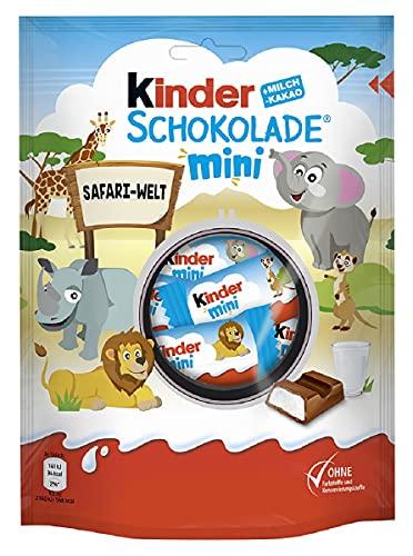 kinder Schokolade Mini, Kleine Portionen für Zwischendurch, 120 g