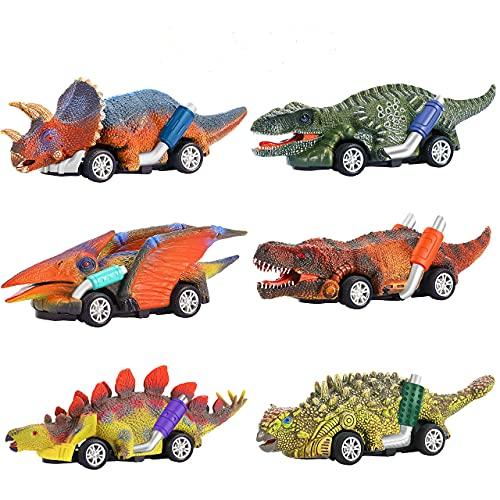 SAITCPRY Juguetes Niños 2-8 Años, Dinosaurios Juguetes 2 3 4 5 6 7 Años Regalo Niña 2-8 años Coches de Juguetes Niños 2-8 Años Juguetes Niña Halloween