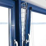 Trixie 44183 Schutzgitter für Fenster, Seitenteil, 62 × 16/7 cm, weiß