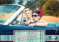 Rockabilly - Back to the 50s (Wandkalender 2022 DIN A2 quer): Rockabilly - Back to the 50s versetzt Sie in die 50er Jahre zurueck (Monatskalender, 14 Seiten )