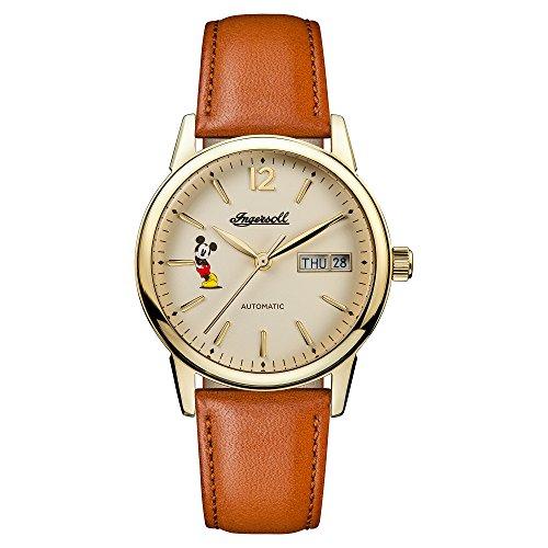 Ingersoll Damen Analog Automatik Uhr mit Leder Armband ID01101