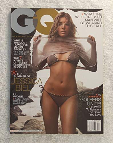 Jessica Biel - GQ Magazine - July 2007 - Lil Wayne: America's Greatest Rapper?, 18 Ways to Reinvent Golf articles