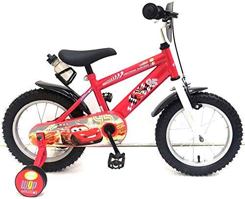14 Zoll Kinderfahrrad Kinder Fahrrad Rad Bike Jungenfahrrad Rücktrittbremse Rot McQueen Cars VOLARE 11448-CH-NL