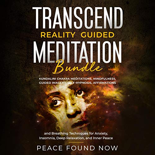 Transcend Reality Guided Meditation Bundle audiobook cover art