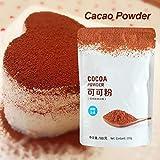 su-xuri Cacao en Polvo, 3.5 oz de horneado Gourmet procesado Cacao en Polvo Rico Sabor para Hacer Pan en casa Hornear Pasteles Well-Liked