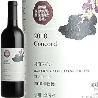 井筒ワイン NACコンコード 720ml 赤 中口