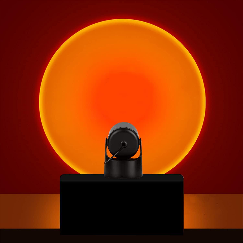 Sunset Projection Led Light Rainbow Lamp Stand Superior Modern Ranking TOP15 Floor Nig