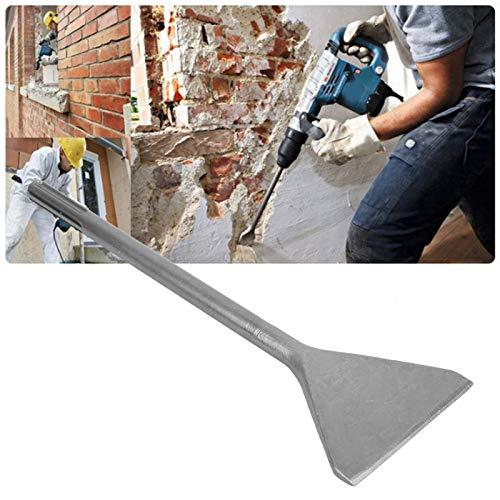 Cincel SDS MAX, Cincel para baldosas, Cincel para azulejos, Cincel ancho para baldosas hecho en acero súper endurecido, Cincel de Azulejo Doblado para Cerámica y Piso