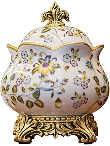 Cremation Urns Mini Cremation Urns Pet Funeral Urns Adults Children Pet Urn European Style Ceramics Hand Drawn Used To Store A Small Amount Of Human Ashes Garden Urns for Ashes TQZHENG