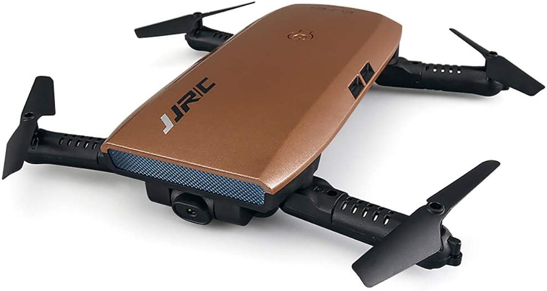 Boman Faltbare WiFi RC FPV Drohne mit 720P Kamera G-Sensor Spielzeug FPV HD Elfie Control,braun