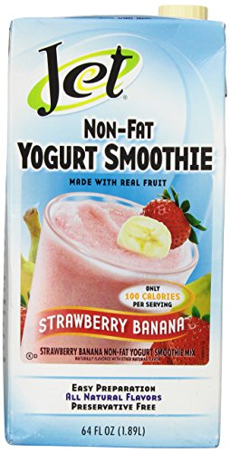 DaVinci Strawberry Banana Non Fat Yogurt Smoothie Mix, 64 Ounces