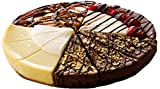 A delicious dilemma for anyone who loves cheesecake! Enjoy three perfect slices each of four outstanding flavors. Serves 12. New York Style, Chocolate Amaretto, Black Forest Cherry and Chocolate Caramel Pecan Cheesecake. Ships Mondays & Tuesday only;...