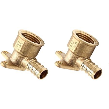 "5 Pk Genova .5/"" CPVC X .5/"" FIP 90 Degree Tub Shower Faucet Drop Ear Elbow 53055"