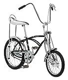 Schwinn Classic Old School Krate Bike, Ape Handlebar and Bucket Saddle, 20-Inch Wheels, Coal