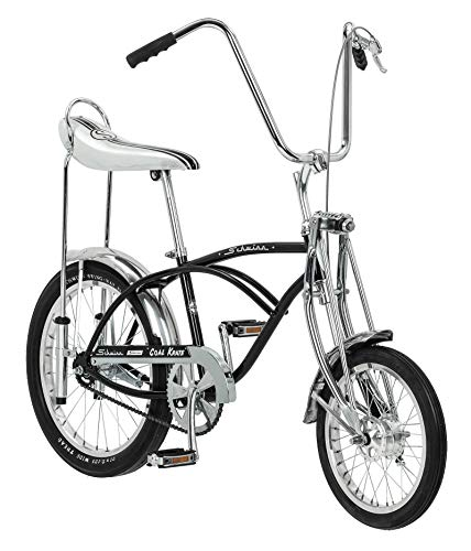 Schwinn Classic Old School Krate Bike, Ape Handlebar and Bucket Saddle, 20-Inch Wheels,...