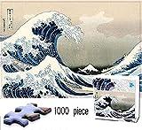 Puzzles Adultos 1000 Piezas Rompecabezas Gran Ola Frente A Kanagawa Art Painting Puzzle Decoración Rompecabezas Educativos Juegos De Bricolaje Brain Challenge Puzzle Sets