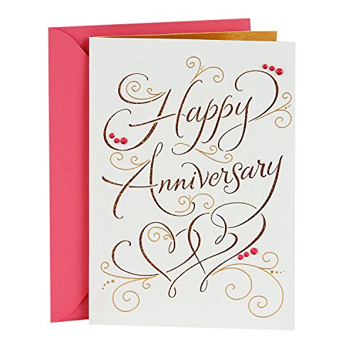 Hallmark Signature Anniversary Card for Couple (Happy Anniversary)