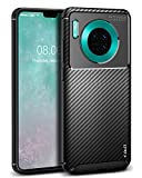 J&D Case Compatible for Huawei Mate 30 Case, [Carbon Fiber