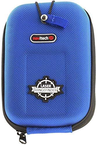Navitech Estuche Rígido/Tapa Azul EVA Telémetros con Mosquetón Compatible con El Nikon Forestry Pro Laser rangefinder