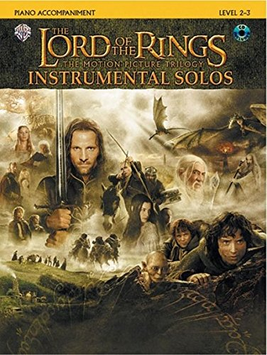 The Lord of the Rings Instrumental Solos: Piano Acc., Book & CD: Piano Acc., Book & Online Audio (Pop Instrumental Solo)