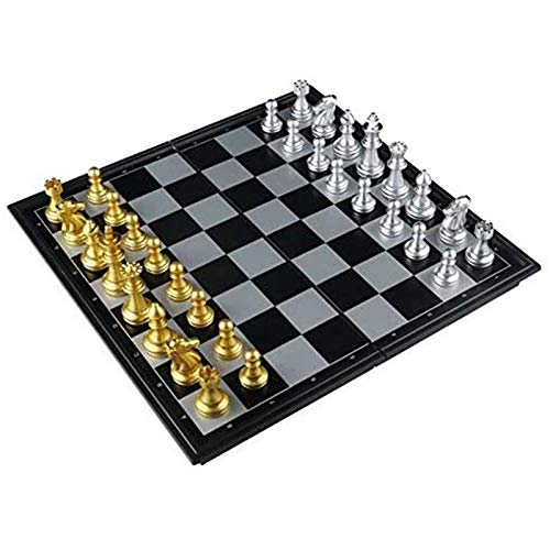 XHH Chess Set Magnetic Travel Chess for Kids Traditional Folding Chess Board Game for Adults Educational Kids Toys Puzzle Entertainment Party Game