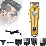 4YANG Haarschneider für Männer, Bartschneider Bart Trimmer Haarschneidemaschine tragbarer...