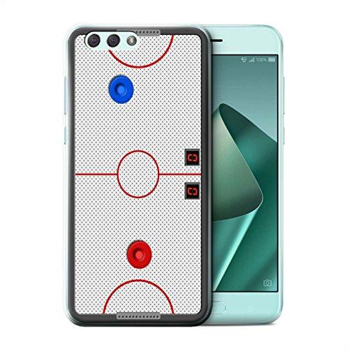 Stuff4® Hülle/Case für Asus Zenfone 4 ZE554KL / Airhockey Muster/Spiele Kollektion