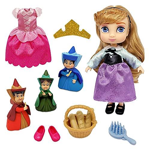 Disney Aurora Animators' Collection Mini Doll Play Set – Sleeping Beauty – 5 Inches