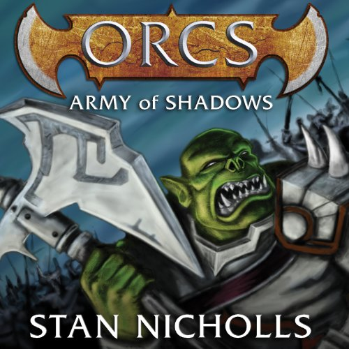 Orcs: Army of Shadows audiobook cover art