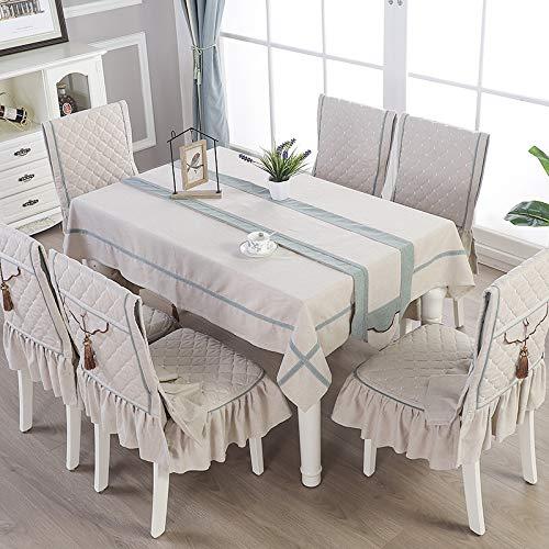 Creek Ywh high-end woonkamer in Chinese stijl salontafel tafelkleed stof rechthoekig tafelkleed, sober gouden jaar - beige, tafelvlag 30 * 230cm