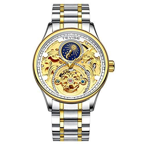 High-End Herrenuhr Automatikuhr Herren Mechanische Uhren Hohles Skelett Automatikuhr Herren Marke Sport Armbanduhr Masculino Reloj Hombre