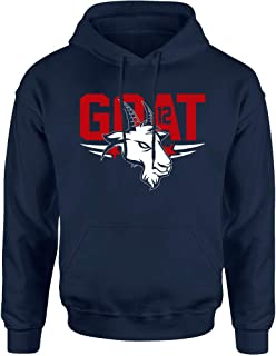 TWO Apparel New England The Goat 12 Hoodie Sweatshirt