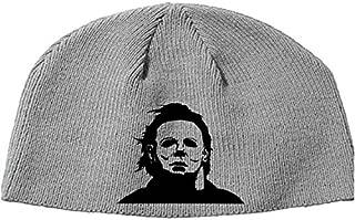 Merch Massacre Halloween Michael Myers John Carpenter Shape Boogie Man Beanie Knitted Hat Cap Winter Clothes Horror Christmas