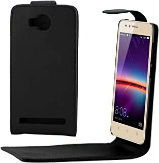 YCDZ STORE Compatible for Huawei Y3 II / Y3II Ordinary Texture Vertical Flip Leather Case