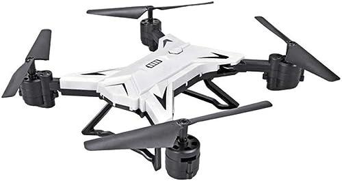 NJYT Mini Drone,Pliables Avion avec Caméra 1080P HD Quadcopter Flips 3D Mode sans Tête Grand-Angle à 110 ° Lumière LED pour Débutants et Enfants ( Couleur   Blanc , Taille   B )