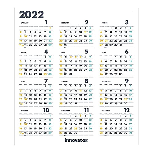 ミドリ イノベーター 2022年 カレンダー ポスター 30928006