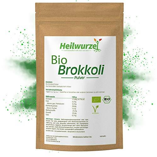 Bio Brokkoli Pulver | 250g, 500g, 1kg Brokkolipulver | deutscher Anbau Broccoli, Artikel Paketmenge: 1000