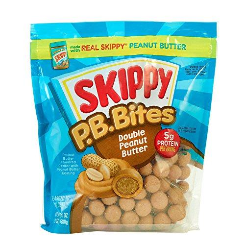 Skippy PB Bites- Double Peanut Butter 24 ounces Large Size