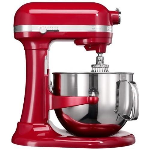 KitchenAid 5KSM7580XEER - Robot de cocina (Acero inoxidable, 50 - 60 Hz, Rojo