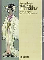 Partition classique RICORDI PUCCINI G. - MADAMA BUTTERFLY - CHANT ET PIANO Voix solo, piano