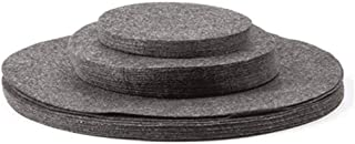 Anntool Soft Felt Plate Dividers, Pot and Pan Protectors Cookware Protector Set, Round Storage Separator Protectors for Ch...