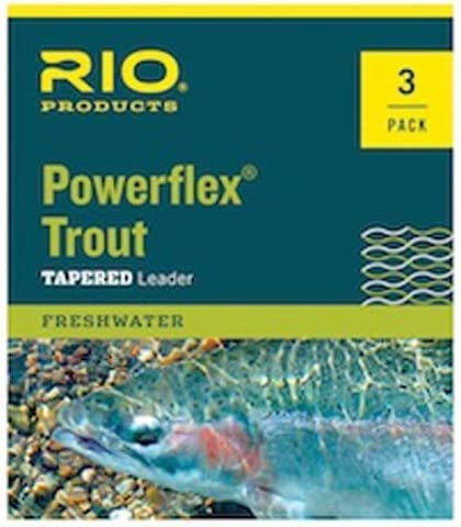 Rio Powerflex Trout Fly Fishing cheap Leaders Foot Tulsa Mall Pack - 9 6